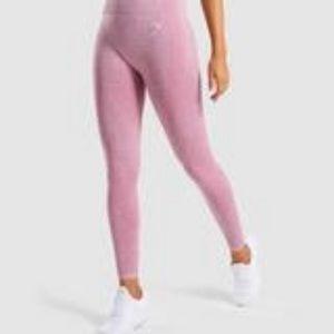 Gymshark Vital seamless leggings- dusty pink marl